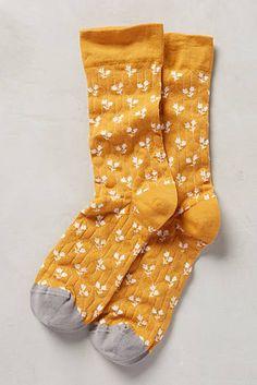 Paired Posy Socks