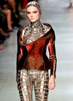 #fashion #clothing #female | ... Paco Rabanne Spring/Summer 2012