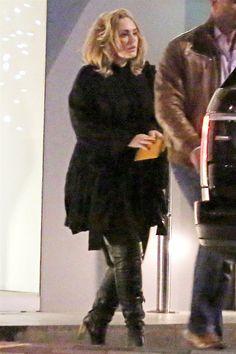 Adele paparazzi