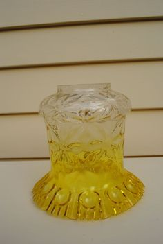 images of antique yellow lamp shades - Google Search