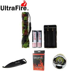 XP-L V5 889lm 3-Mode Cool White Flashlight w/ Multi-functional Knife (1 * 18650). Find the cool gadgets at a incredibly low price with worldwide free shipping here. Ultrafire XP-L V5 889lm 501B Outdoor Flashlight Light - Army Green, 18650 Flashlights, . Tags: #Lights #Lighting #Flashlights #LED #Flashlights #18650 #Flashlights