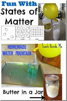 Solid, Liquid, Gas Hands on Activities