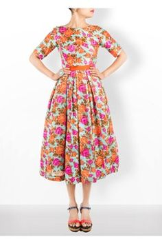 Floral Midi Dress    #carma #carmaonlineshop #style #fashion #designer #indianfashion #indiandesigner #ankitajuneja #gown #couture #shopnow #indianwear #pretty #girly #onlineshopping #instashop #beautiful #outfitpost #ootd #ootn #partywear #eveningwear #whattowear #floral #midi #dress #summerdressing