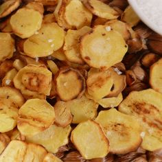 Satisfy a crunchy craving for chips with these versions made from nutrient-dense ingredients, such as kale, apple, coconut, Brussels sprouts, and parsnips