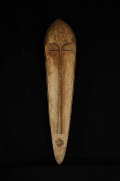 Africa . Gabon . Fang mask