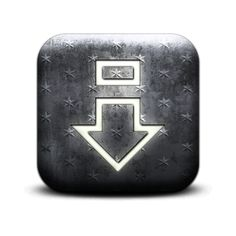 Eject Down Arrow Icon #130391 » Icons Etc