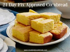 Thanksgiving Cornbread - 21 Day Fix Approved - Create Bake Celebrate