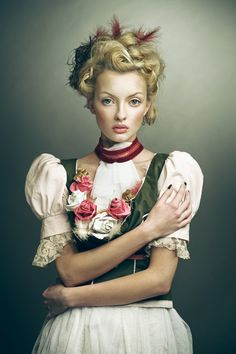 """Joanna Kustra's beautiful photography, the """"paintings"""" portraits series - Ego - AlterEgo Portrait Photography, Fashion Photography, Dramatic Photography, Portraits, Advertising Photography, Portrait Inspiration, Creative Inspiration, Pin Up Girls, Girl Hairstyles"""