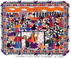 Mexican Art Prints (Set of 4) - beautiful prints celebrating midwifery