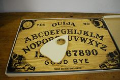 Vintage Original 1970s Ouija Board Game Complete with Planchette by tarantulasisters