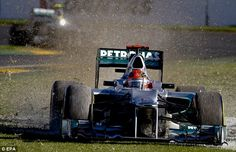 Michael Schumacher - GP Australia 18th March 2012 #formula1 #f1 #australia