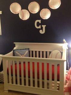 All American Baseball Nursery Theme