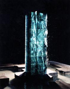 Danny Lane Stacked Glass Fountain, 1986 www.dannylane.co.uk