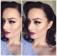 #TheBeautyBoard Makeup of the Day: OLD HOLLYWOOD GLAMOUR by glamourdoll29. Upload your look to gallery.sephora.com for the chance to be featured! #Sephora #MOTD