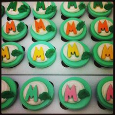Mini Cupcake Fazendinha Miguel