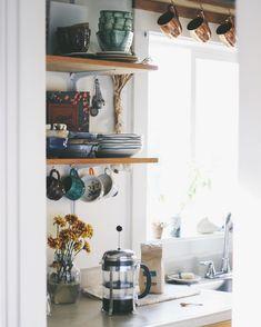 "3,530 Likes, 36 Comments - Anna Louise | Portland, Oregon (@_annalouise._) on Instagram: ""Slow Saturday. . . . #experimentalvintage #vintage #vintagestyle #kitchen #rustic #decor #design…"""