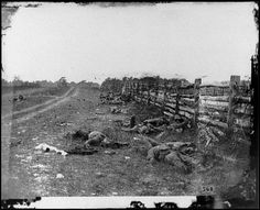 Battle of Antietam during the Civil War.