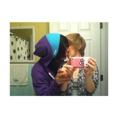 emo boys | Tumblr ❤ liked on Polyvore featuring couples, boys, people and ryan