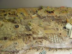 DIORAMA Maquette au 1/72e Normandie D-Day WW II 2