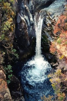 New Zealand Travel Inspiration - Taranaki Falls, New Zealand By moonjazz Tungariro National Park in New Zealand