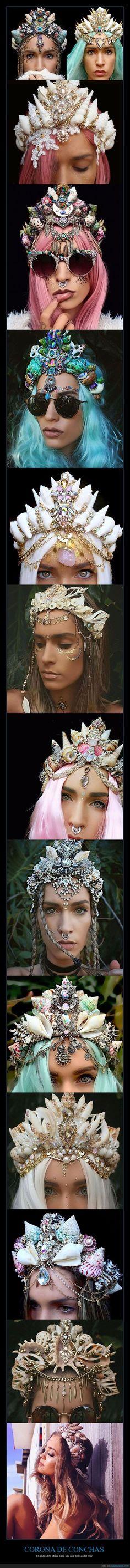 Las coronas de flores ya no están de moda - El accesorio ideal para ser una Diosa del mar   Gracias a http://www.cuantarazon.com/   Si quieres leer la noticia completa visita: http://www.estoy-aburrido.com/las-coronas-de-flores-ya-no-estan-de-moda-el-accesorio-ideal-para-ser-una-diosa-del-mar/