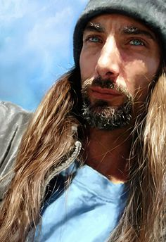 """The Sailor"" - Addy {figurative realism art male head bearded man face portrait digital painting #2good2btrue} redragon.deviantart.com"
