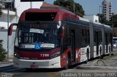 (Brasil) Ônibus da empresa Viação Campo Belo, carro 7 2106, carroceria CAIO Millennium BRT, chassi Volvo B360S. Foto na cidade de São Paulo-SP por Pratabus 9 Anos - Desde 2005, publicada em 01/04/2014 00:59:13.