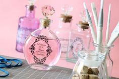 DIY Apothecary Bottle - DIY Bridesmaid Gift   Wedding Planning, Ideas & Etiquette   Bridal Guide Magazine
