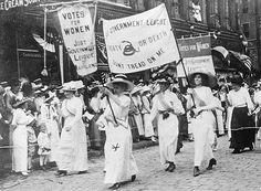 La Segunda Ola del FEMINISMO:   El Feminismo Liberal Sufragista. Consolidando el modelo sociopolítico  liberal.