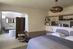Luxe Minimal Bedroom And Ensuite Bath Cannes Villa Remodel By Elliott Barnes EBI, Francis Amiand Photo