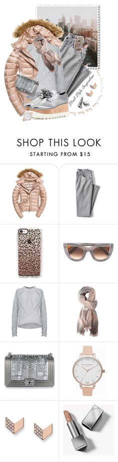 """""""Happy Friday..Cool and Cozy!!!"""" by shortyluv718 ❤ liked on Polyvore featuring Fuji, Lands' End, Casetify, Thierry Lasry, 3.1 Phillip Lim, Charlotte Russe, Chanel, Olivia Burton, FOSSIL and Burberry"""
