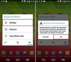 Android - Modo de Segurança