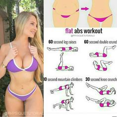 Flat abs workout! Follow us (@exercies) for the best daily workout tips ⠀ All credits to respective owner(s) // DM Tag a friend who'd like these tips