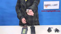 How to use Highlight Handheld metal detector?