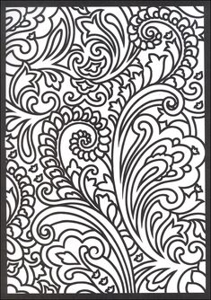 Pattern and Design Coloring Book (Volume 1) | Paisley Designs Stained Glass Coloring Book | Additional photo (inside ...