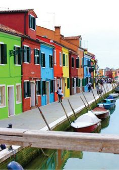 Burano, Italy – Crazy Colorful!