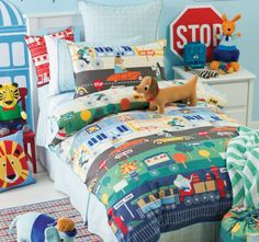 HICCUPS -  Out n About Single Bed Quilt Cover Set  #kidsmanchester #kidsbedlinen #bedlinenonline #manchesterforboys #bedlinenforboys #bedlinen  This gorgeous set is perfect for your world curious little one.The world theme will suit your little one's curiosity with the world around him. Using the imagination is a wonderful thing for your little one's night time wondering adventures and will make him feel like sleep is the most exciting world of all! x