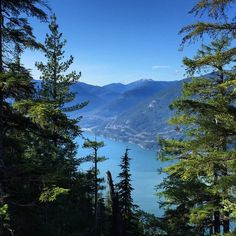 View of the Howe Sound from the Sea to Sky Gondola #exploreBC #westcoastliving #getoutside #hiking