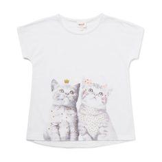 Kitty Print Tee