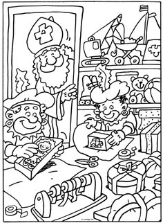 Speelgoed inpakken Winter Project, Creative Kids, Coloring Pages, Kids Rugs, Teaching, School, Baby, Notebooks, Dibujo