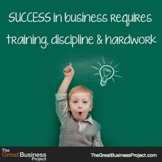 """Like if you agree to this!   """"Success in business requires training, discipline and hardwork.""""   #business #motivation #success #quotes #aretedi"""