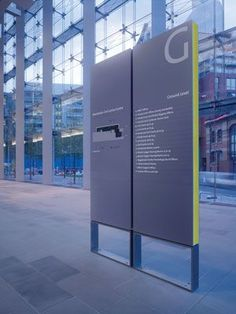 manchester civil justice centre signage, by emerystudio: