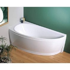 Installing a small bath tub ensures that you get to soak yourself up without wasting too much water.