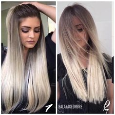 1 or 2 which one your favorite ______________________________________________________ •one million post#balayageombre •#balayage #balayageombre #balayagehighlights #babylights #hairpainting #balayagehair #balayagedandpainted #coloredhair #colormelt #balayageartists #colorhair #goodhair #hairdressing #haircolor #hairstylist #hairdresser #summerhair #beautylaunchpad #americansalon #behindthechair #modernsalon #btcpics #hairbrained #ombrehair #newhair #hotonbeauty #stylistssupportingstylists…