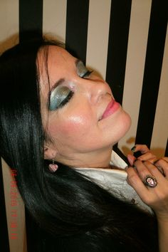 Glamour, Halloween Face Makeup, Fashion, Professional Makeup, Events, Moda, Fashion Styles, The Shining, Fashion Illustrations