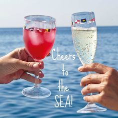 Cheers to the SEA... and all the fabulous wine glass designs: http://www.oceanofferings.com/unbreakableglassware.html