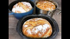 Nur 3 Stunden und 1 Tasse! So ein leckeres Brot hast du noch nicht geges...