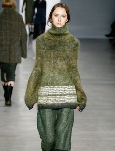 Свитер болотного цвета Calvin Klein