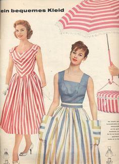 1958 fashions
