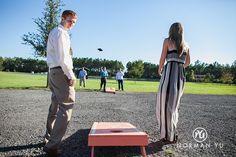 The Keeler Property. Bean bag toss.  Wedding games.